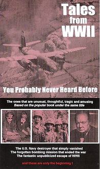 Tales from WWII You Probably Never Heard Before DVD