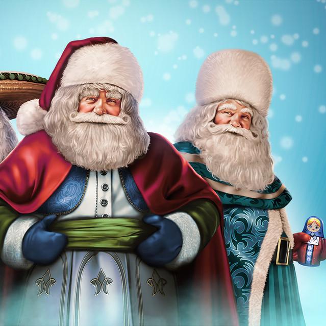 Santas del Mundo