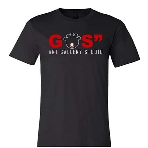 "GOS"" Art Gallery Studio Tee (Black)"