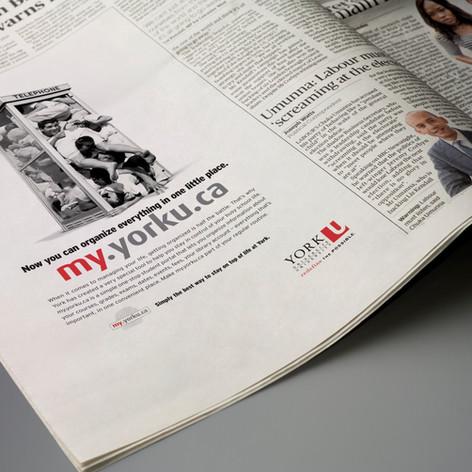 York University Awareness Campaign