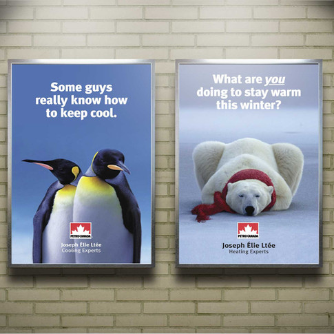 Petro Canada Home Heating Posters