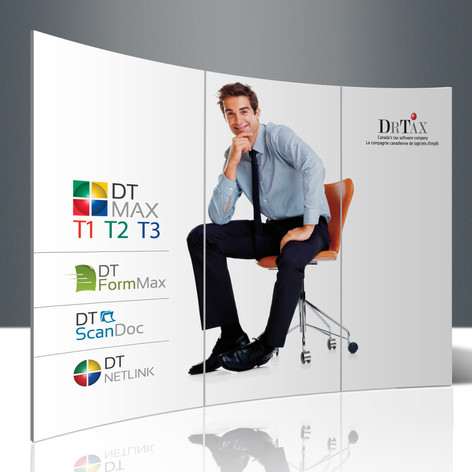 DT Max Pop Up Booth