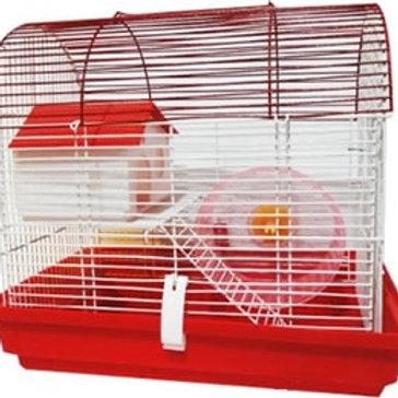Jaula mediana hamster.