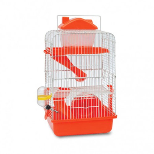 Jaula triple piso hamster