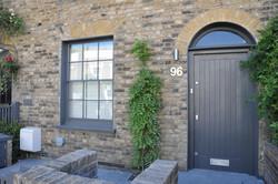 Kentish Town - outside door 02