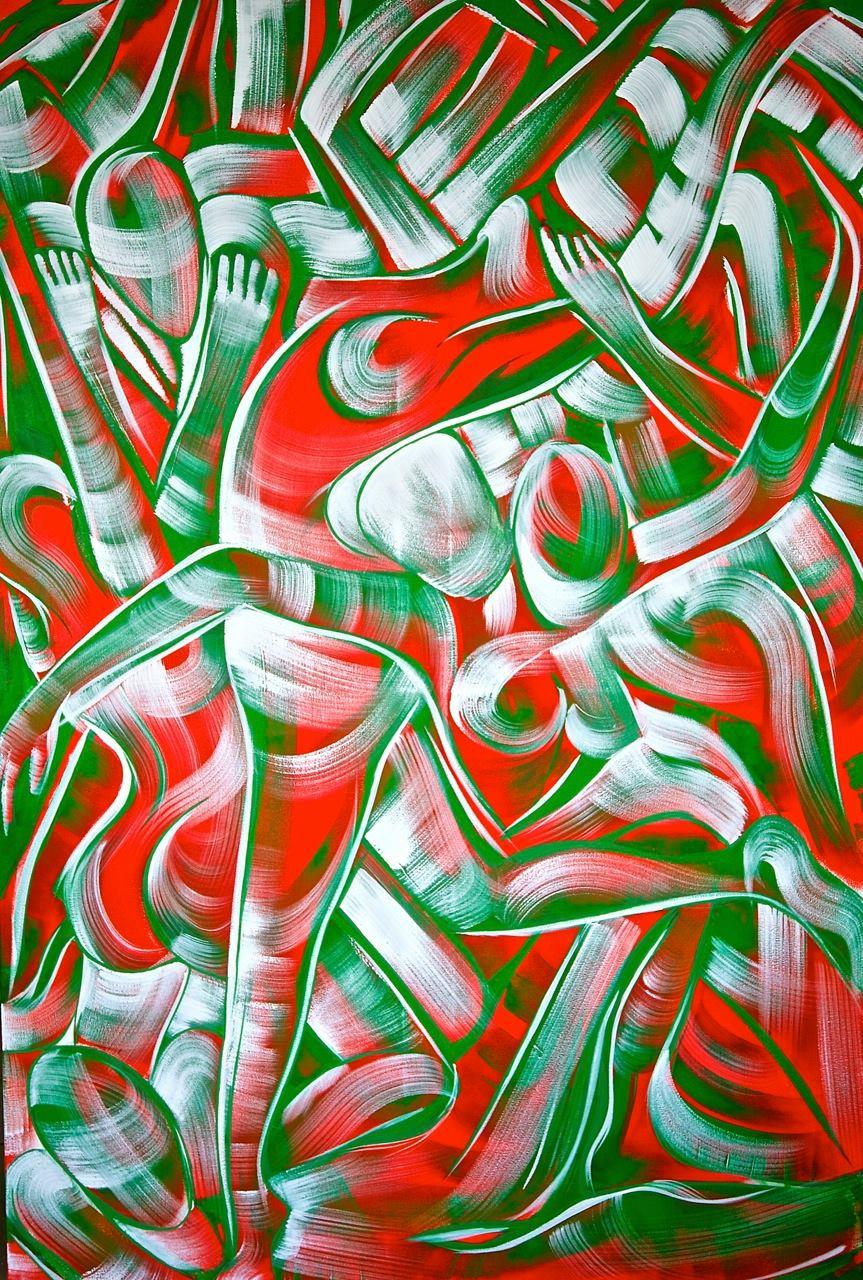 Acrylique sur toile © Sacha Després
