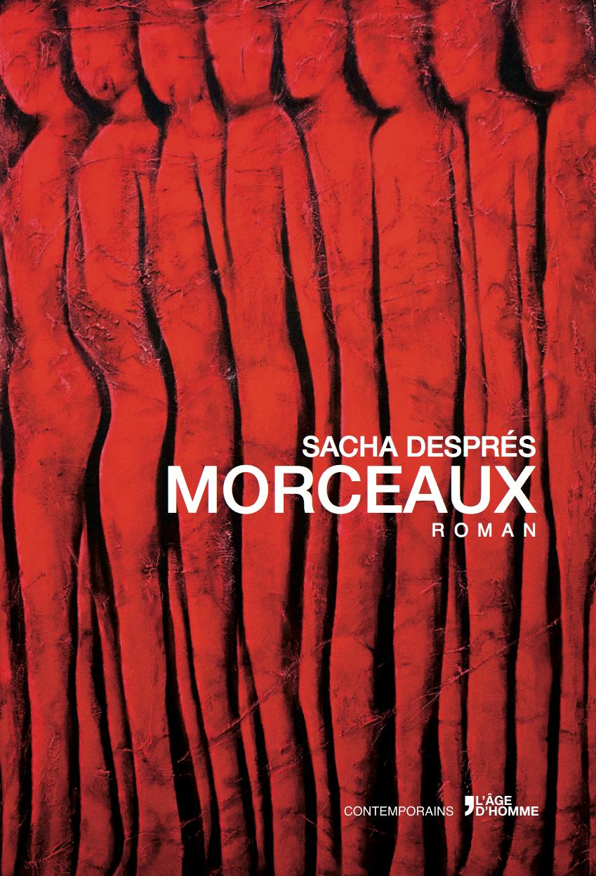 Couverture MORCEAUX © Sacha Després
