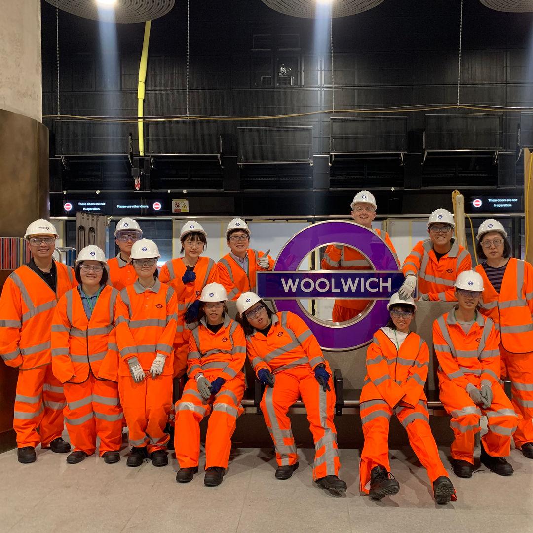 UK Study Tour - Elizabeth Line New Station