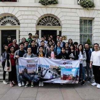 學習交流團 - 參觀香港駐倫敦經濟貿易辦事處