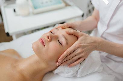 лімфодренажний масаж + альгинатна маска.