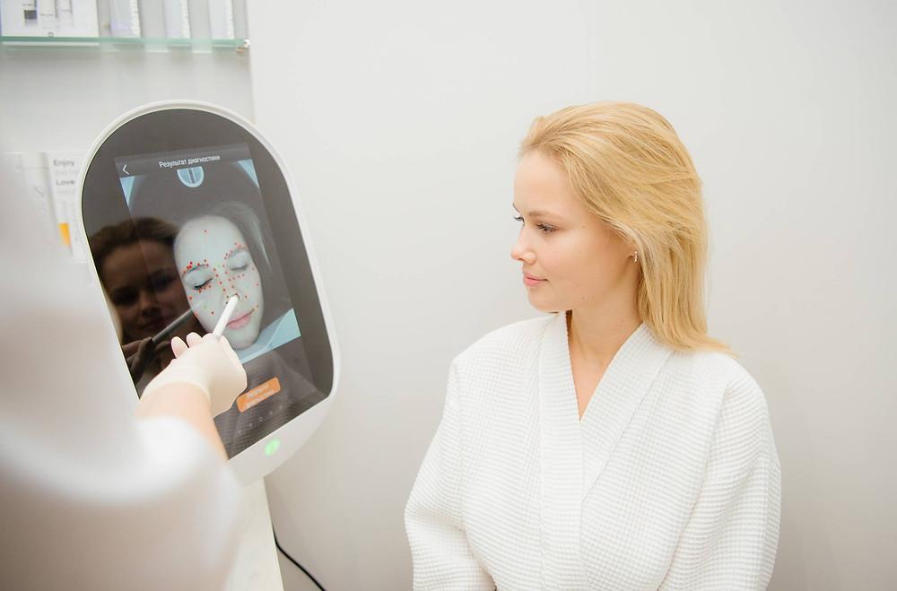 Проверить истинное состояние кожи возможно только аппаратным методом - Opatra Dome