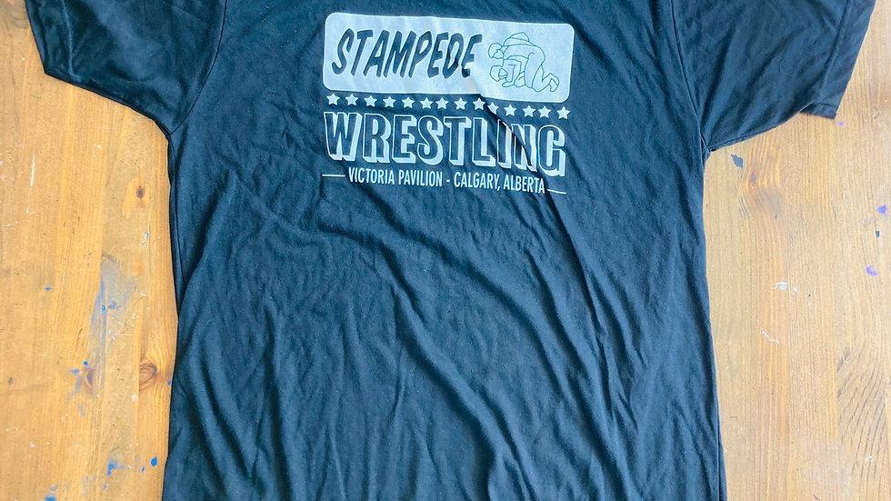 Stampede Wresting T-Shirt (Black)