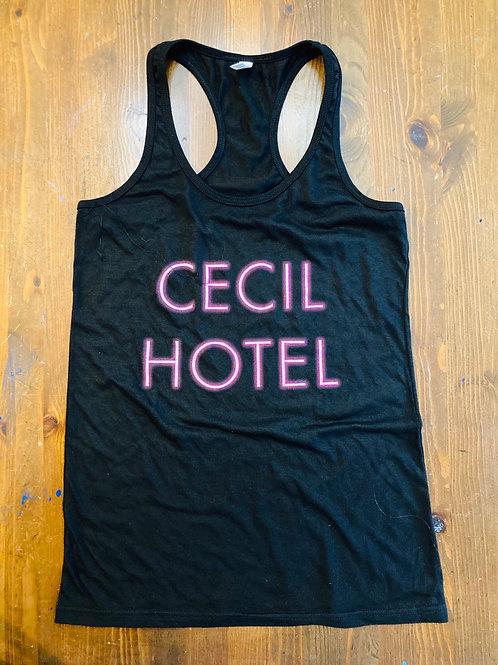 Cecil Hotel Women's Tank Top (Black)