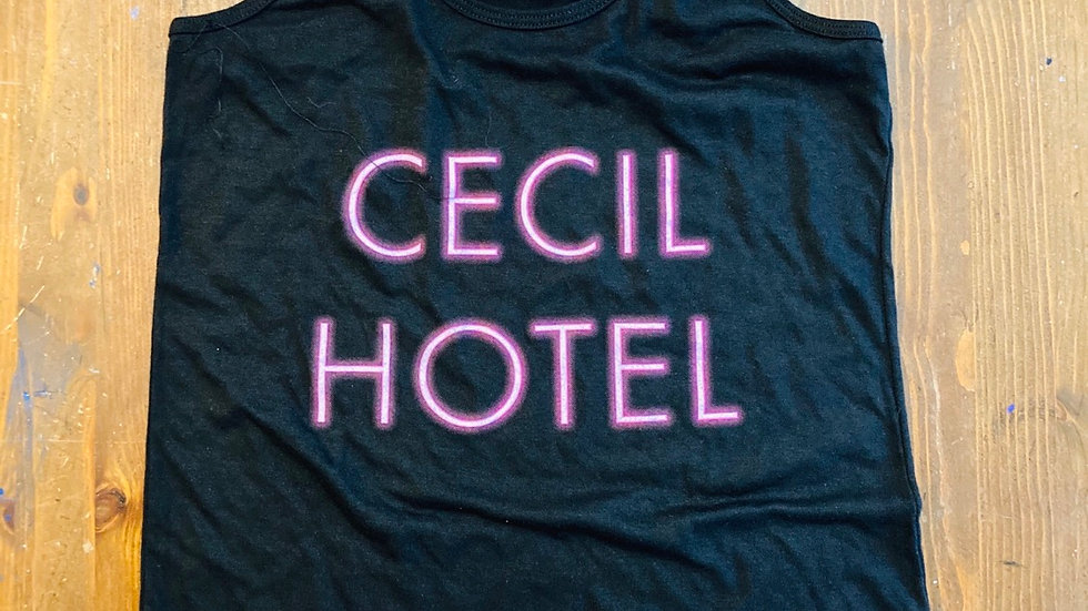 Cecil Hotel Women's Tank Top (Black)