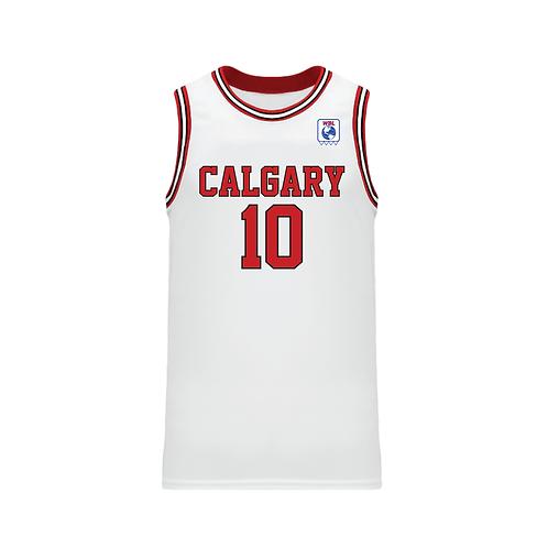 Calgary 88's Chip Engelland Jersey (White/Home)