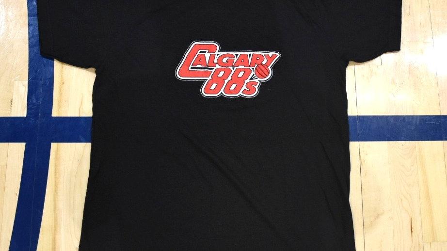 Calgary 88s T-Shirt (Black)