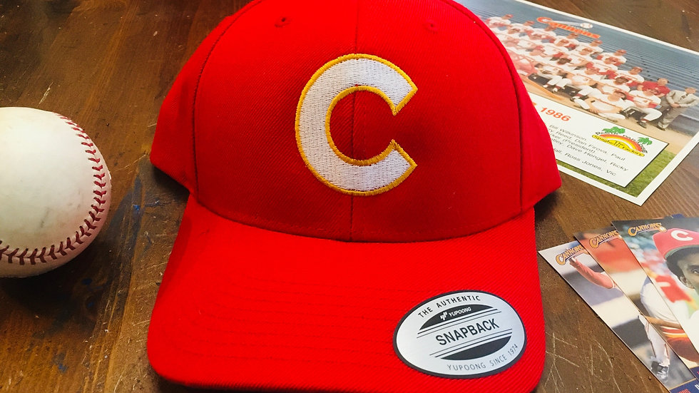 1985 Calgary Cannons Hat (Curved Brim)