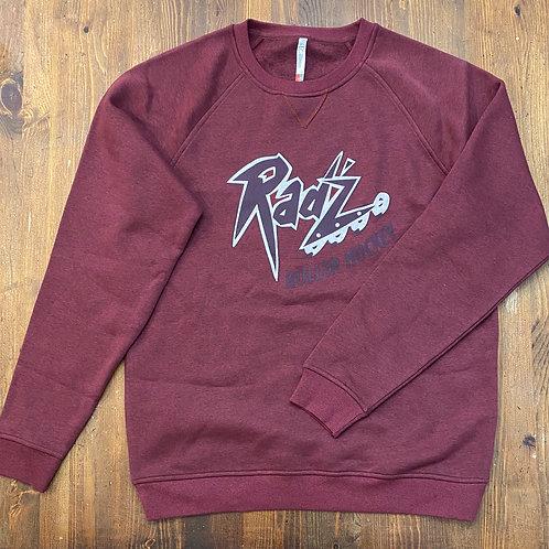 Calgary Radz Sweatshirt (Burgandy)