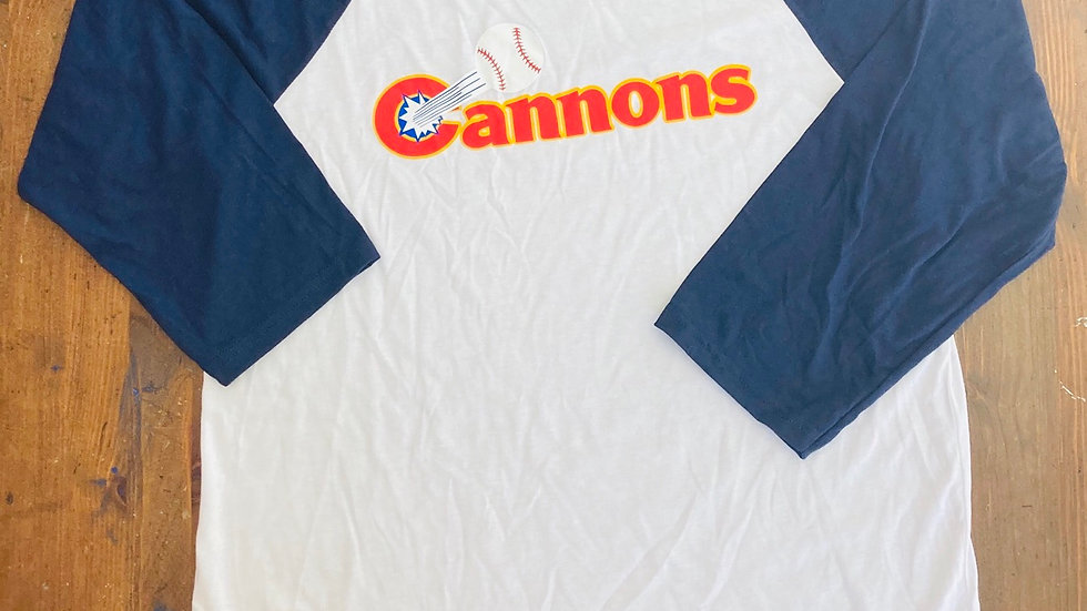 Calgary Cannons 3/4 Baseball Tee (Navy)