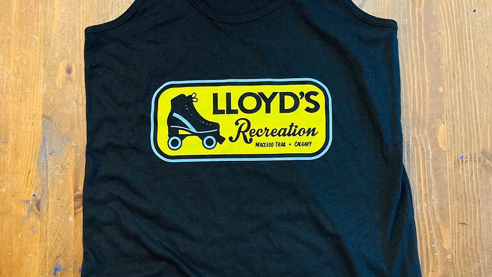 Lloyd's Recreation Women's Tank Top  (Black)