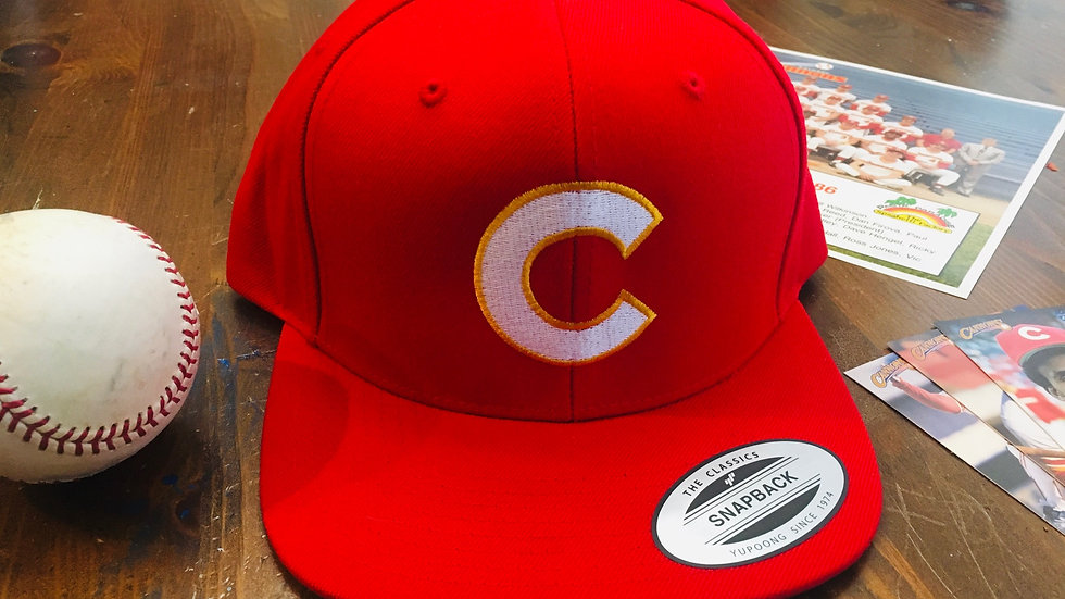 1985 Calgary Cannons Hat (Flat Brim)