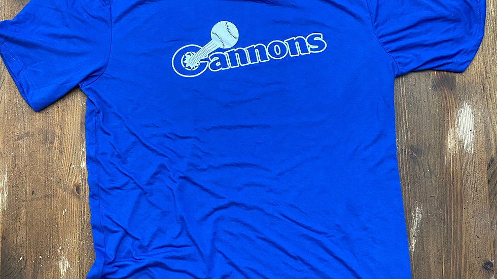 Calgary Cannons Workout Shirt (Blue)