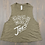 Thumbnail:  Women's Racerback Cropped Tank Top( Heather Olive)