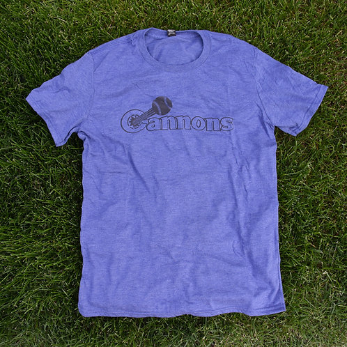 Calgary Cannons T-Shirt (Blue)