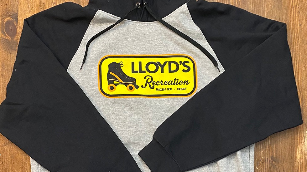 Lloyd's Recreation Hoodie (Black/Grey)