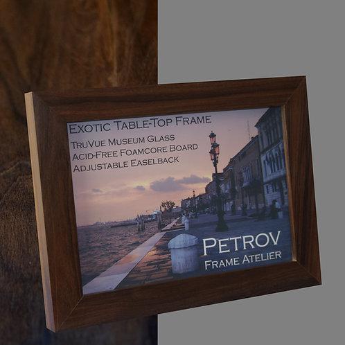 Exotic Pau Ferro (flat profile) Frame