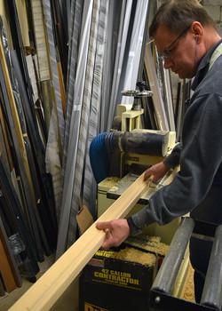 Lumber to Frame