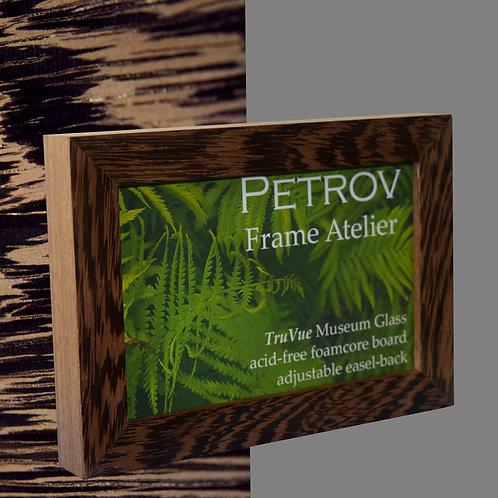 African Wenge Wood (flat profile) Frame