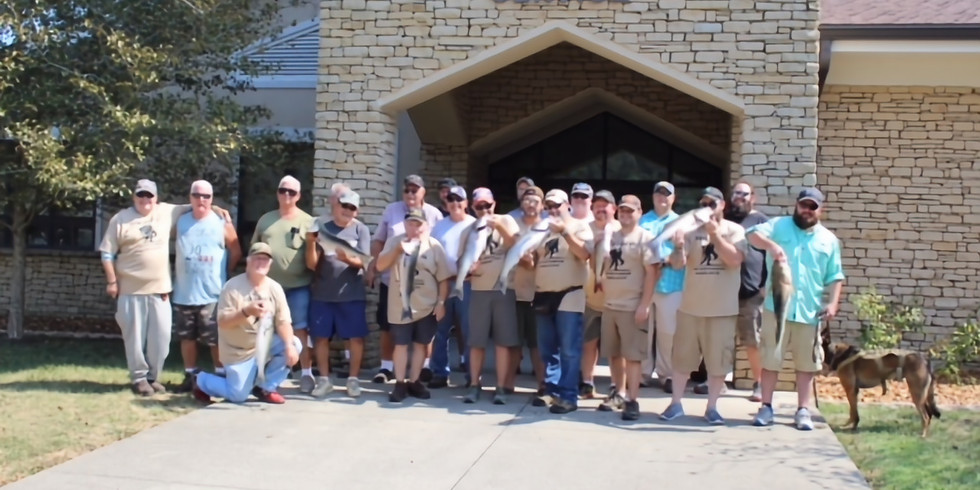 Wounded Warrior Fishing Event