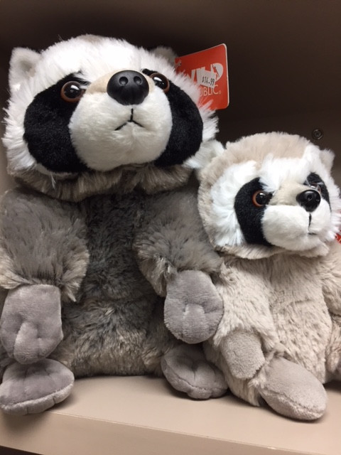 Raccoon Stuffed Animals