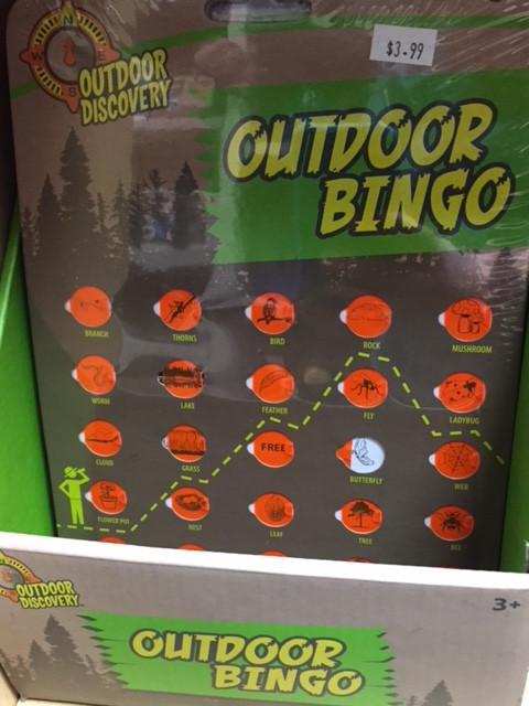 Outdoor Bingo for Two!