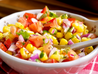 Simple Corn Salsa