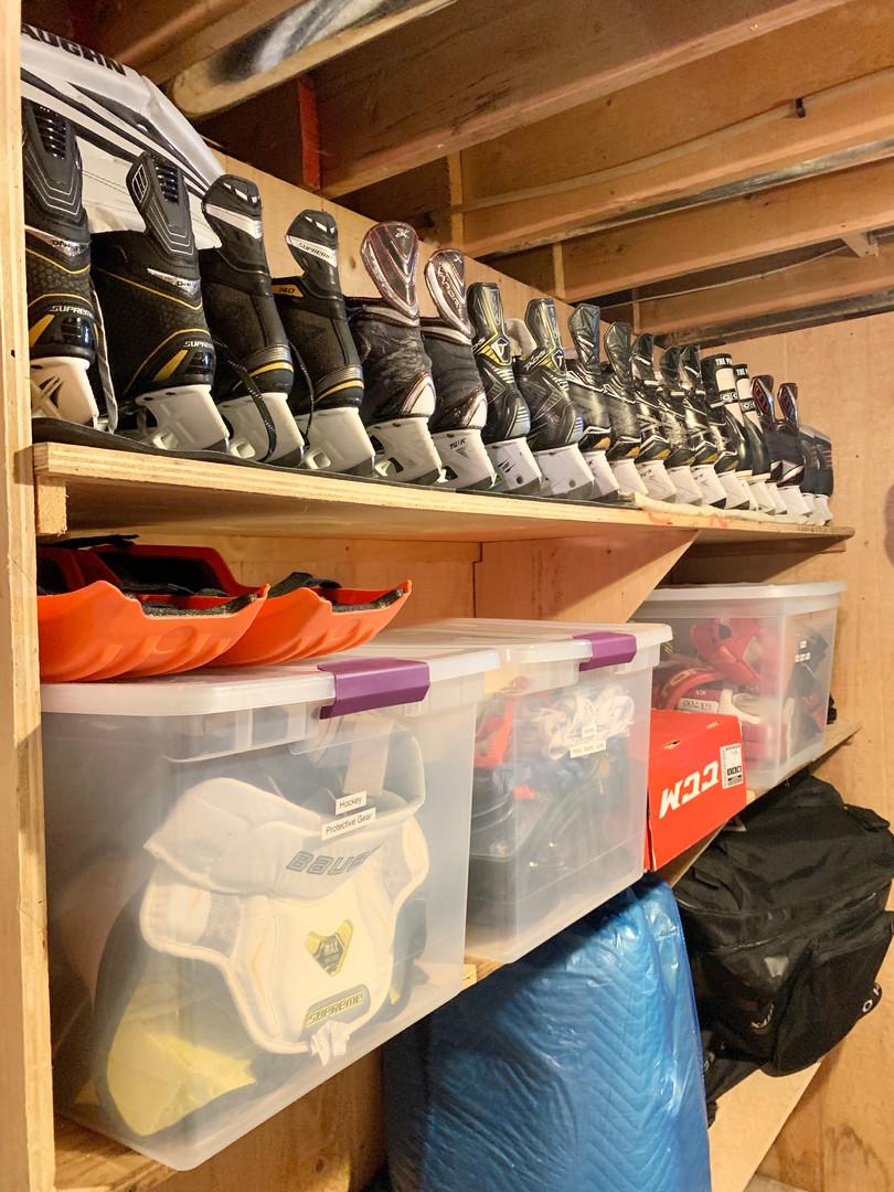 hockey storage