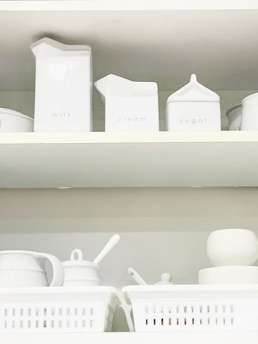 White stoneware collection