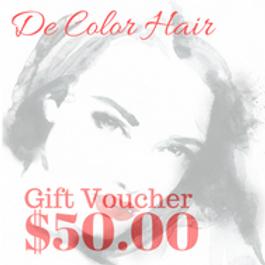 DeColor Hair Gift Voucher