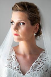 Beautiful romantic bride in Naxos