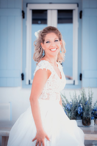 today a bride , tomorrow a princess! Paros island