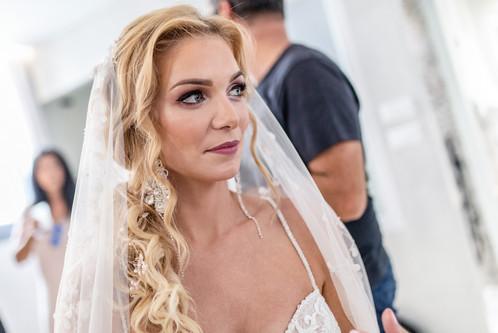beautyful bride in naxos