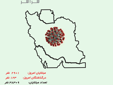 کرونا در ایران ، ۲۹ مارس