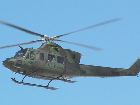 مفقود شدن هلیکوپتر نظامی کانادا