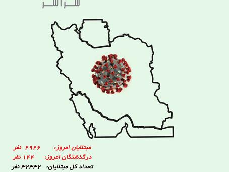 کرونا در ایران ، ۲۷ مارس