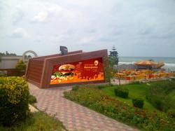 fast food banner side