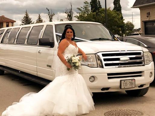WEDDING LIMOUSINE SERVICE.