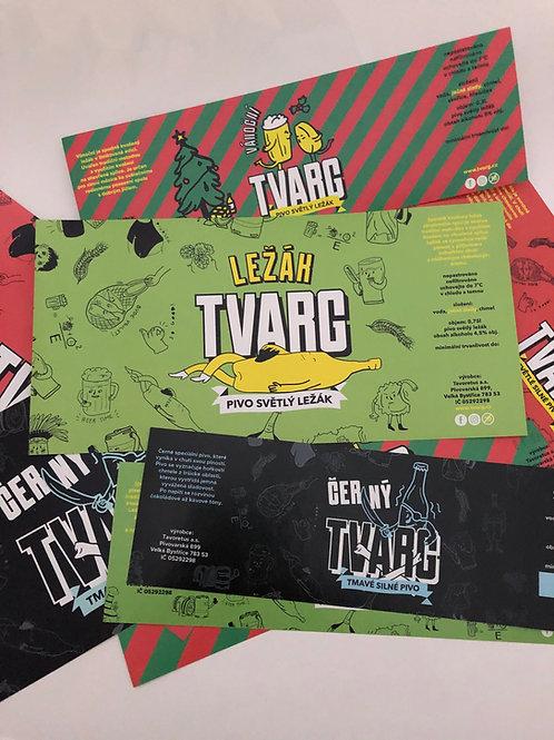 Etikety TVARG edice 2020