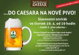 Celoročně do Caesara na nové pivo!