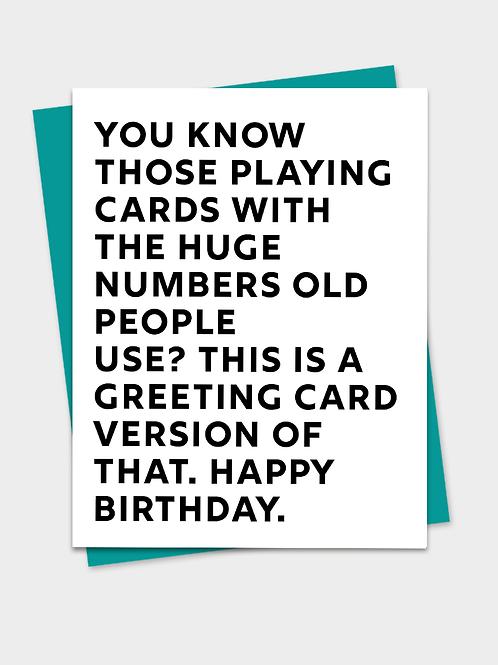 Huge Numbers Birthday